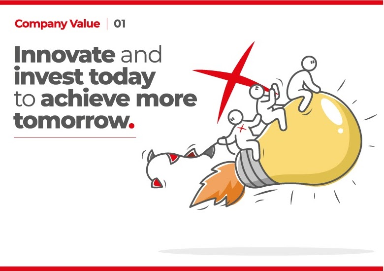 Innovate and invest today to achieve more tomorrow